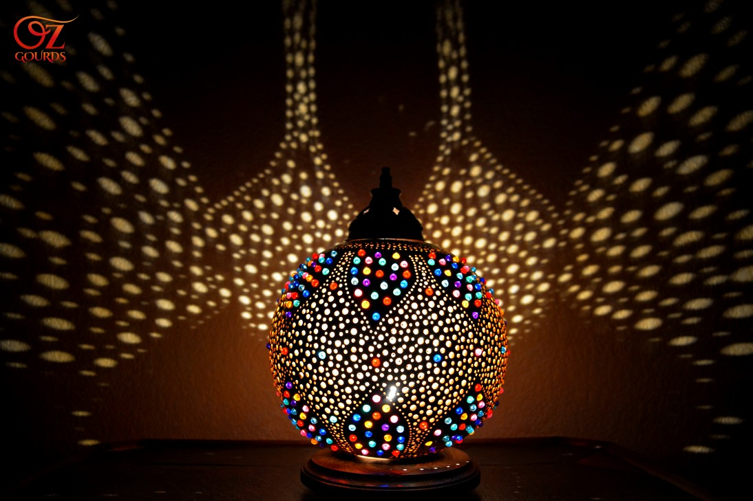 Gourd Lights Oz Gourds Magic Of Light Unique Exotic Handcrafted Gourd Lamps